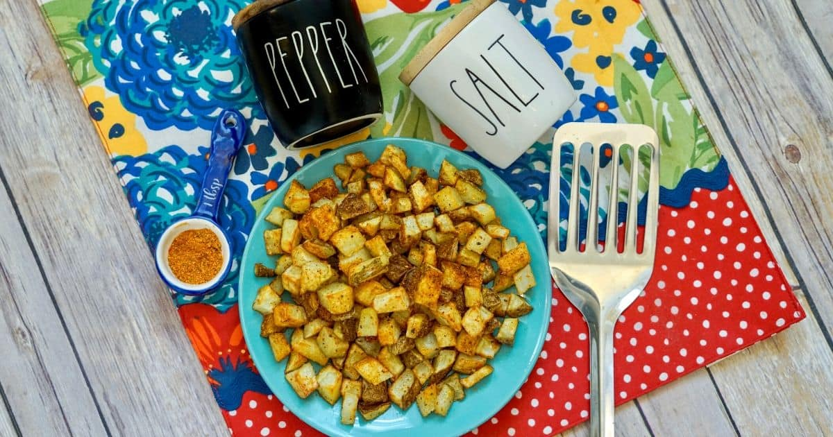 How to Make Easy-Breezy Air Fryer Cajun Diced Potatoes