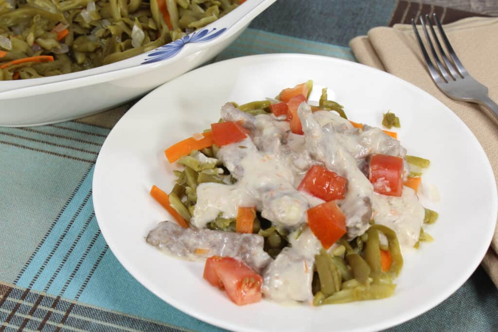 Looking for something different for dinner that's delicious, hearty, and creamy? You'll love this Beef With Rosemary Cream Sauce recipe!