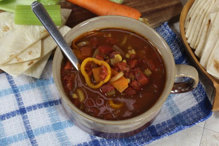 easy tex mex soup recipe