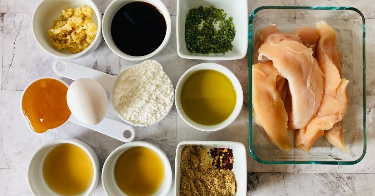 ingredients for gluten free chinese food