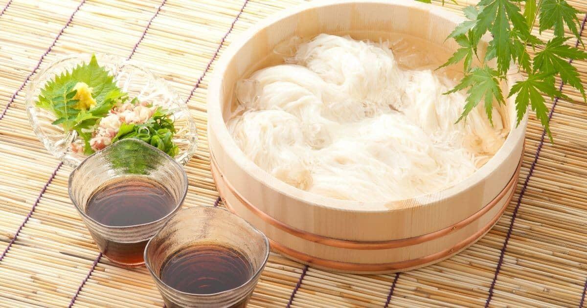 bowl of gluten free ramen glass noodles