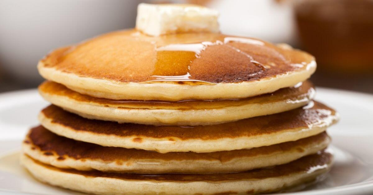 pancakes made using one of the best gluten free flour brands